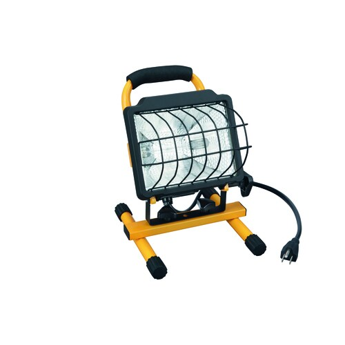 Utilitech 500 Watt Halogen Portable Work Light At Lowes Com