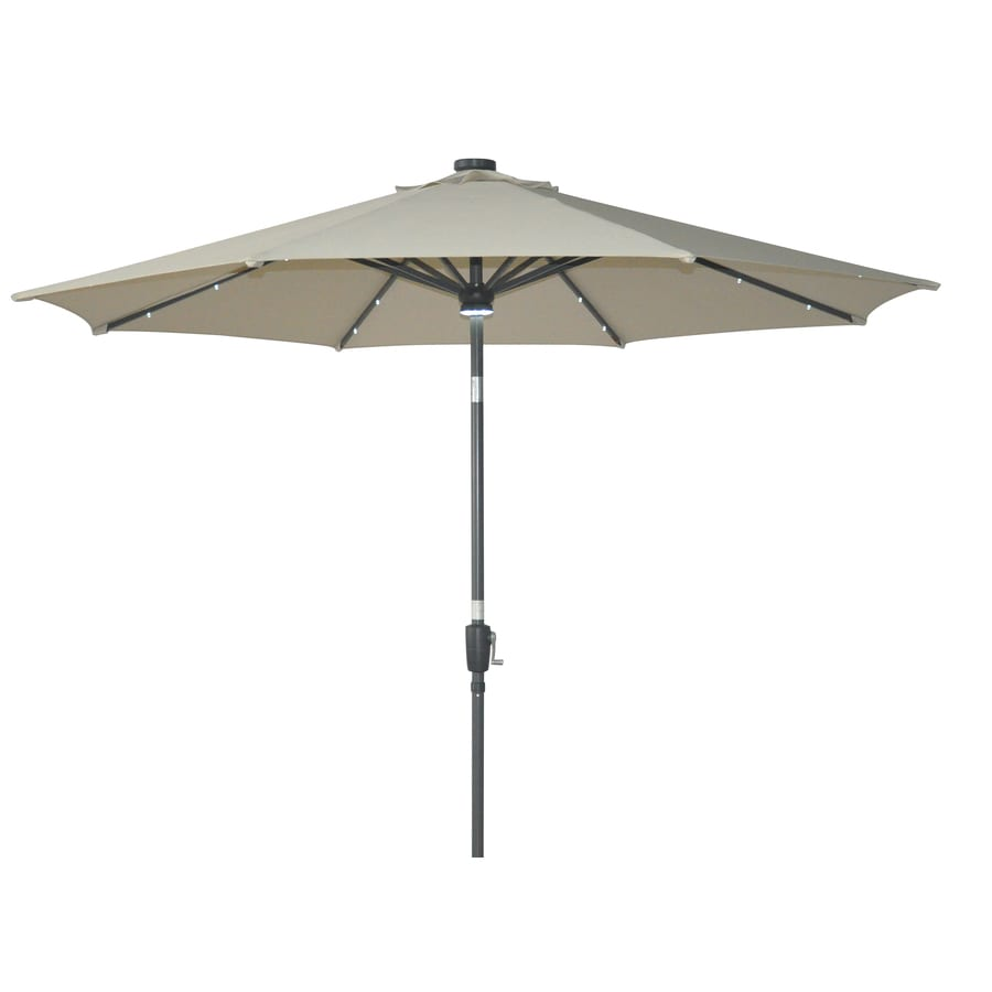 Shop allen roth patio umbrella at for Balcony umbrella