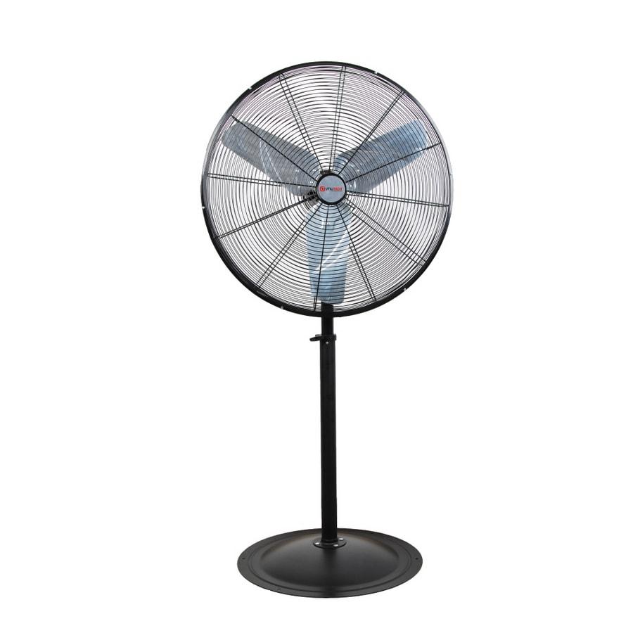 Shop Utilitech 30 High Velocity Pedestal Fan At Lowes Com