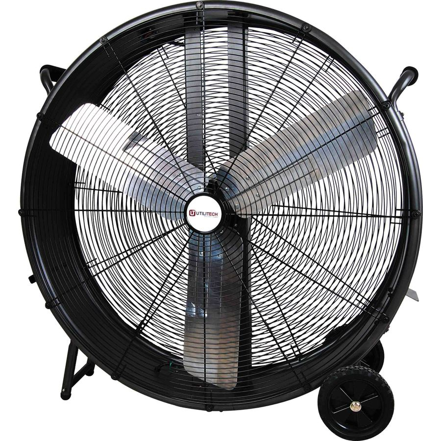 High Speed Outdoor Ceiling Fans: Shop Utilitech 36-in 3-Speed High Velocity Fan At Lowes.com