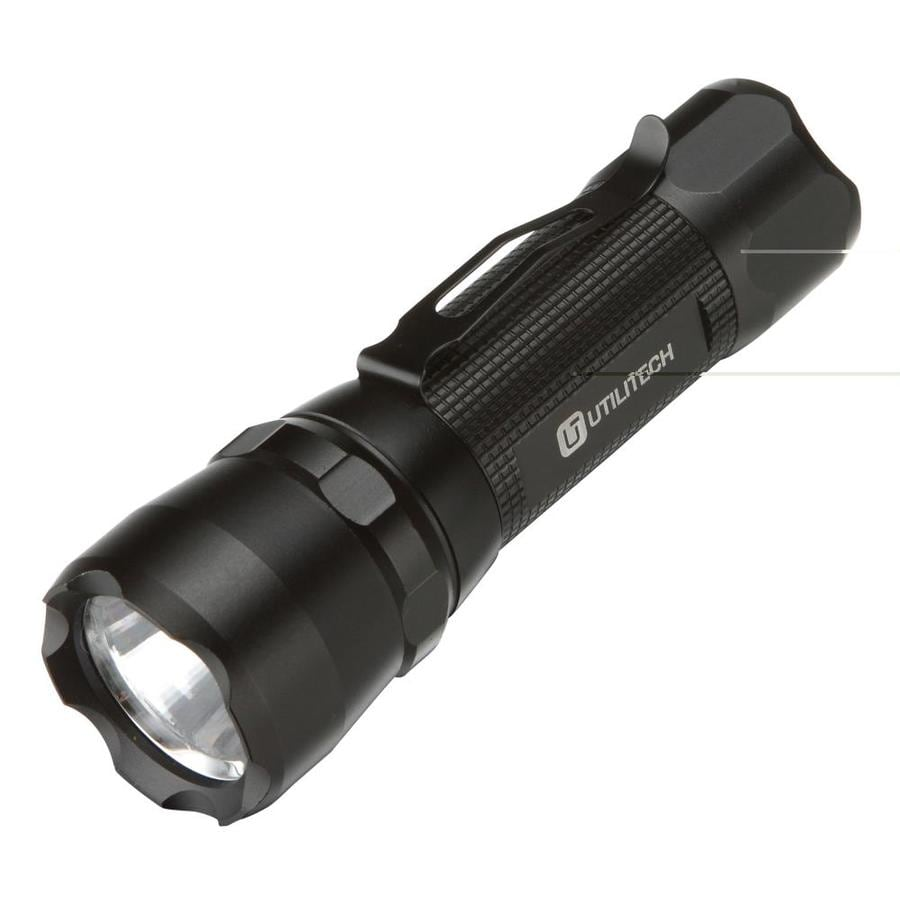 Utilitech 150-Lumen LED Handheld Battery Flashlight (Battery Included)