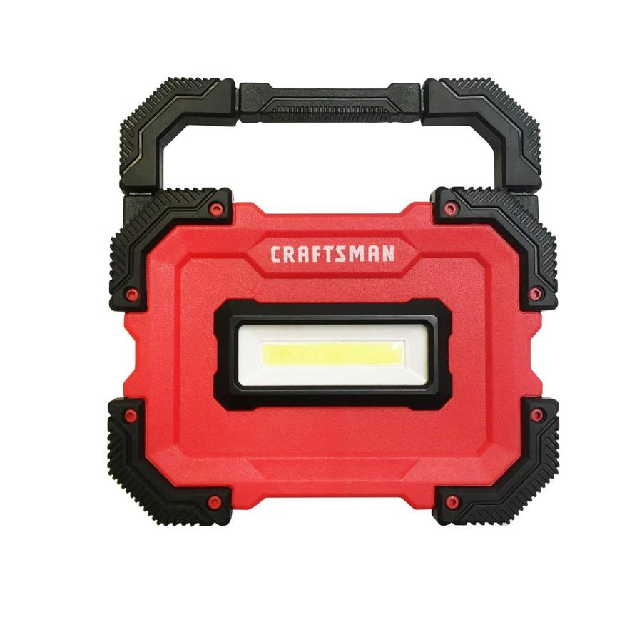 Craftsman 1000 Lumen Led Rechargeable Flashlight Battery Included
