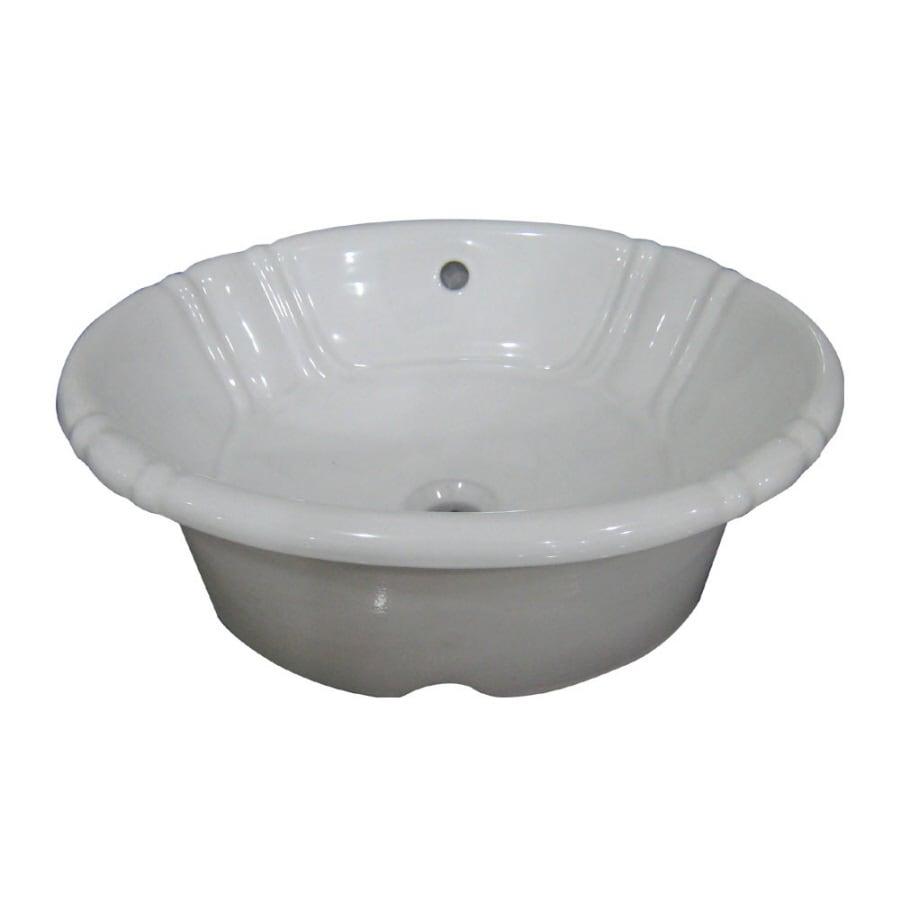 shop aquasource bathroom sink at lowes com rh lowes com Aqua Source Sinks aquasource bathroom sink reviews