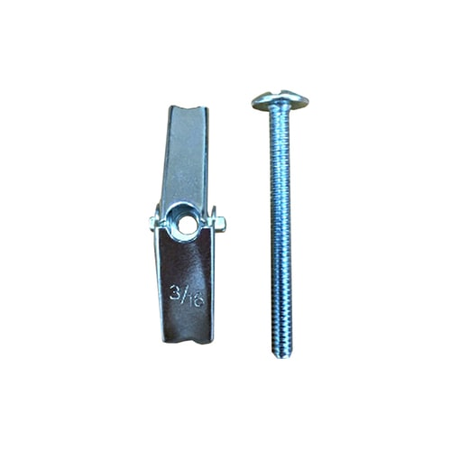 Blue Hawk 2-Pack 0.25-in x 1.75 in Long Lag Shield with Bolts