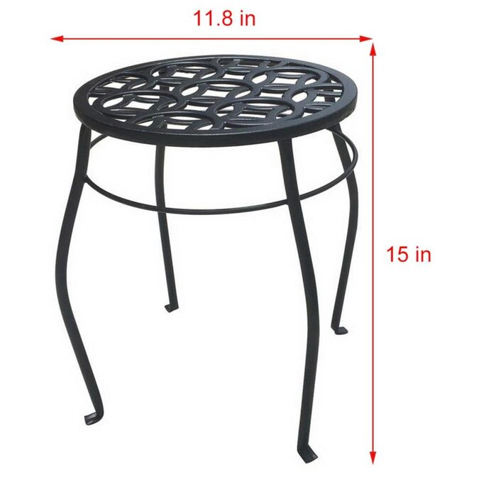 Outdoor Round Steel Plant Stand