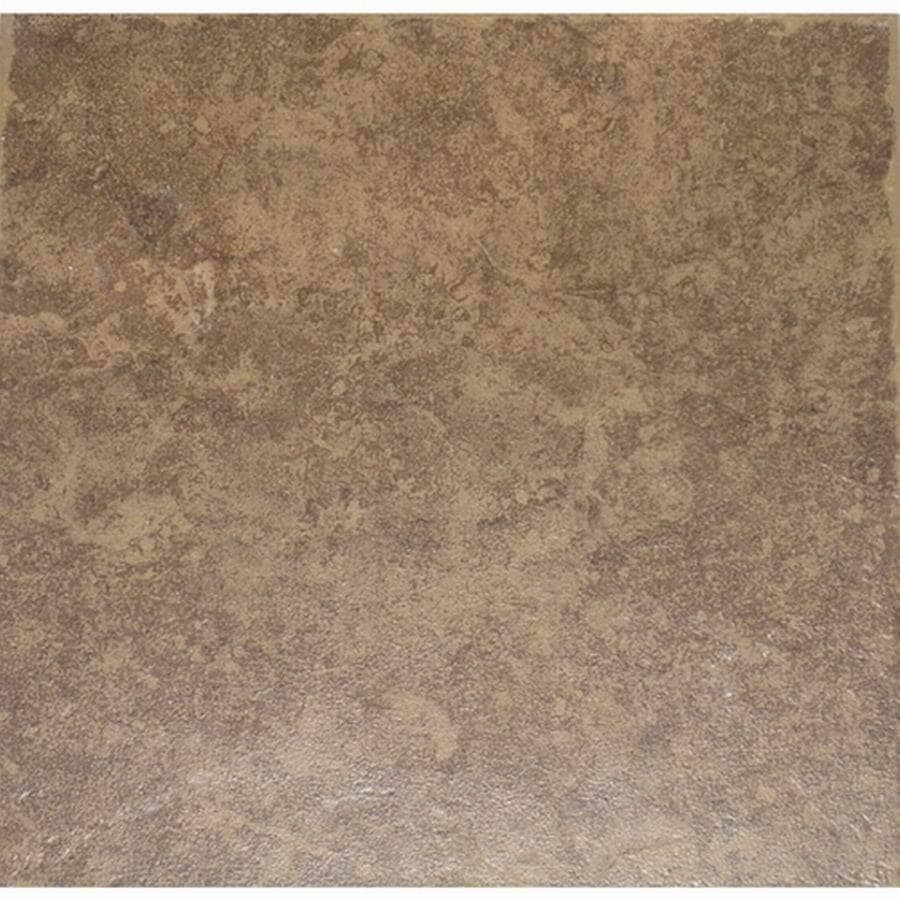 Style Selections La Balantina Brown La Balantina Brown/Matte Ceramic Tile (Common: 12-in x 12-in; Actual: 11.82-in x 11.82-in)