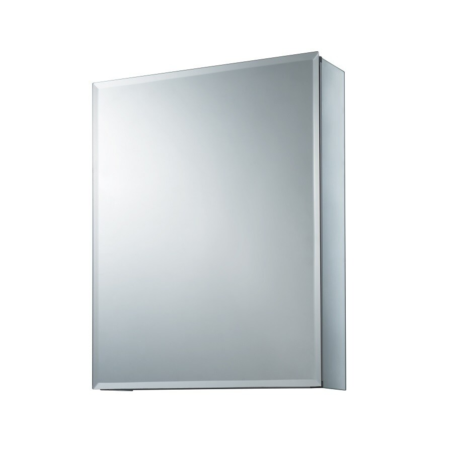 allen + roth 16-in x 20-in Rectangle Surface/Recessed Mirrored Aluminum  sc 1 st  Loweu0027s & Shop allen + roth 16-in x 20-in Rectangle Surface/Recessed Mirrored ...