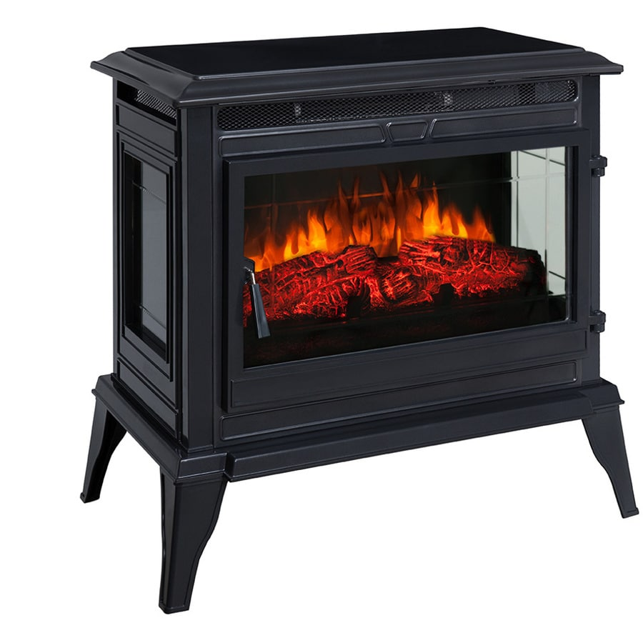 Mr. Heater 25-in W 5,200-BTU Gun Metal Flat Wall Infrared Quartz Electric Stove with Thermostat and Remote Control
