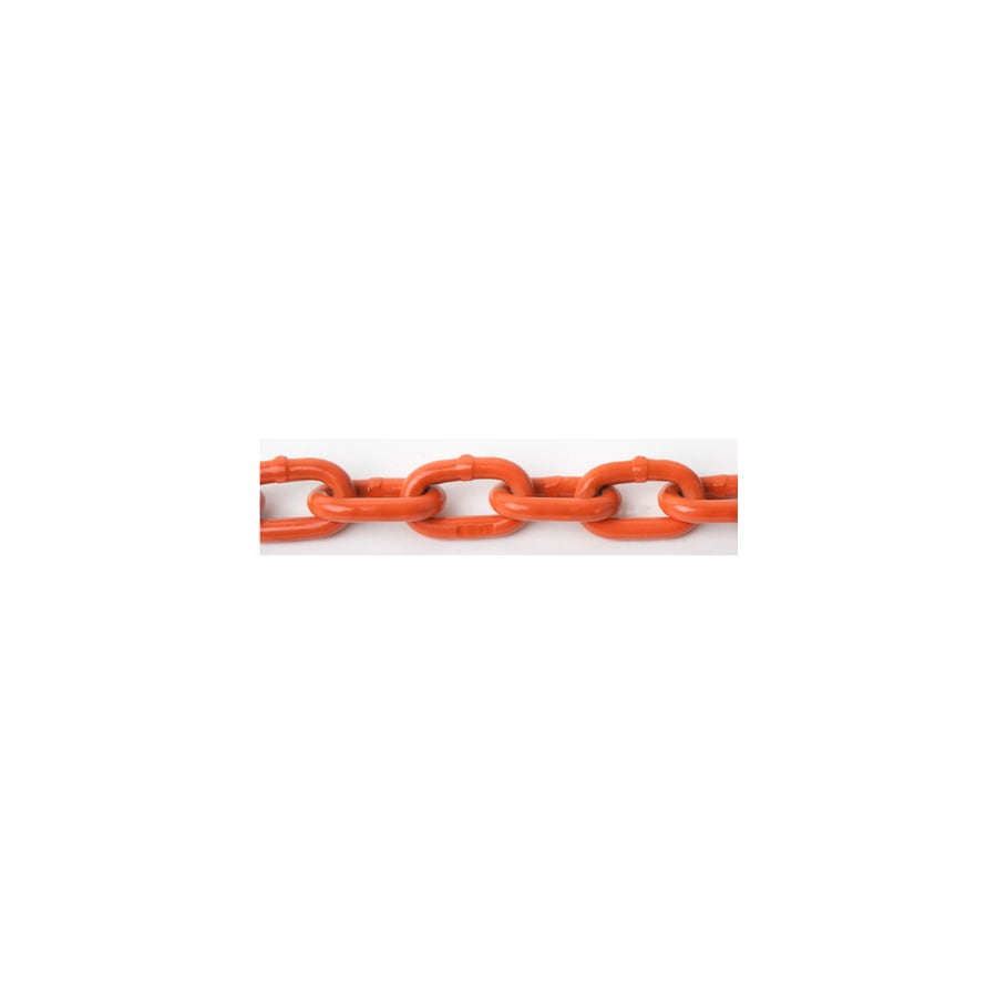 Blue Hawk 1 Ft. 5/16-in Welded Orange Chain (By-The-Foot)
