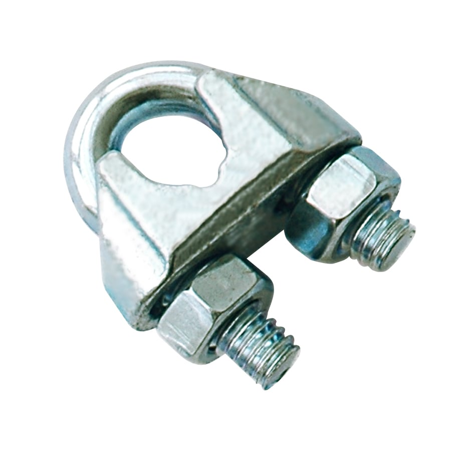 Shop Blue Hawk Zinc-Plated Wire Rope Clip at Lowes.com