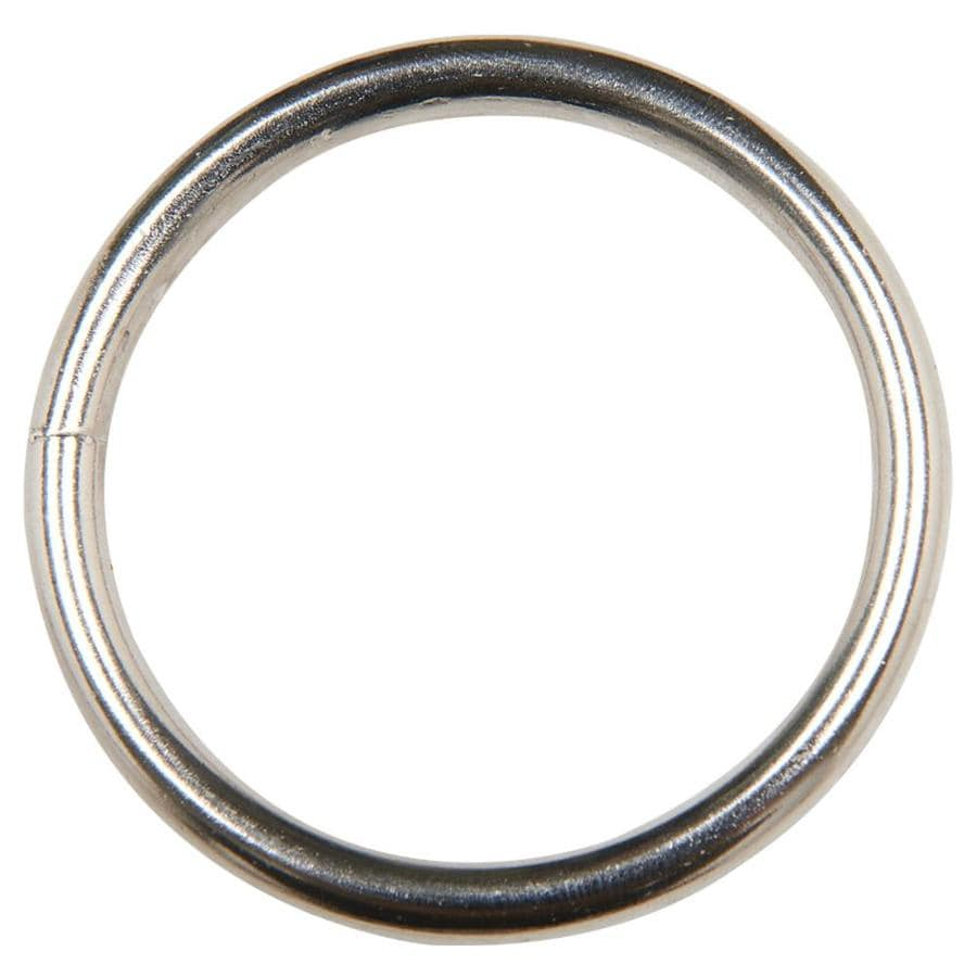 Blue Hawk Blue Hawk 2-in Nickel-Plated O Ring