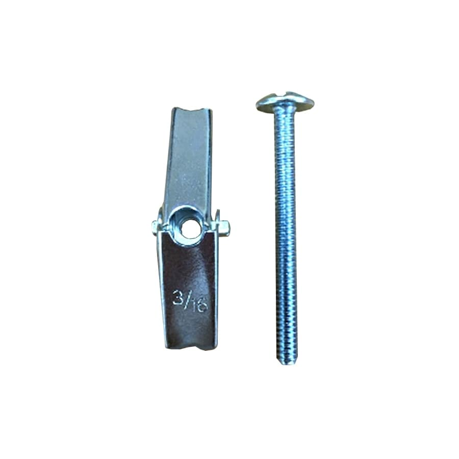 Blue Hawk 3-Pack 0.1875-in x 2-in Zinc-Plated Toggle Bolts