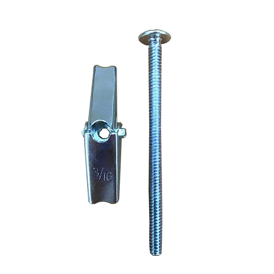 Blue Hawk 4-Pack 0.1875-in x 3-in Zinc-Plated Toggle Bolts