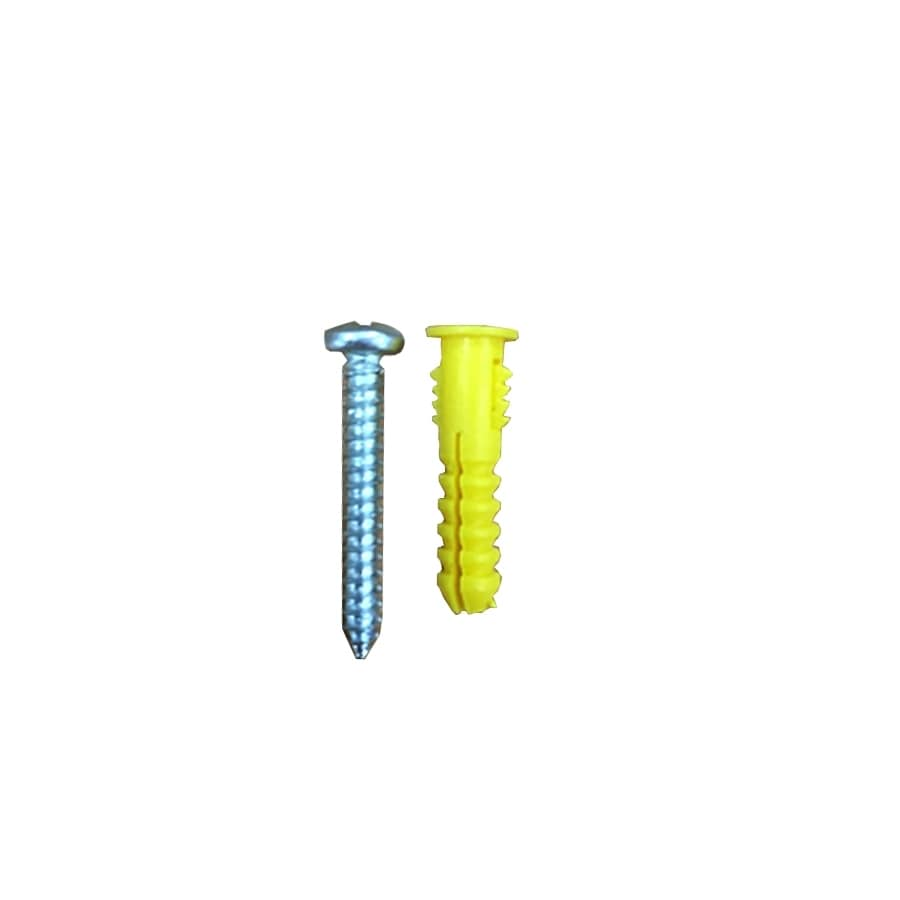 Blue Hawk 40-Pack 0.875-in x 0.19-in All-Purpose Anchors (Screws Included)