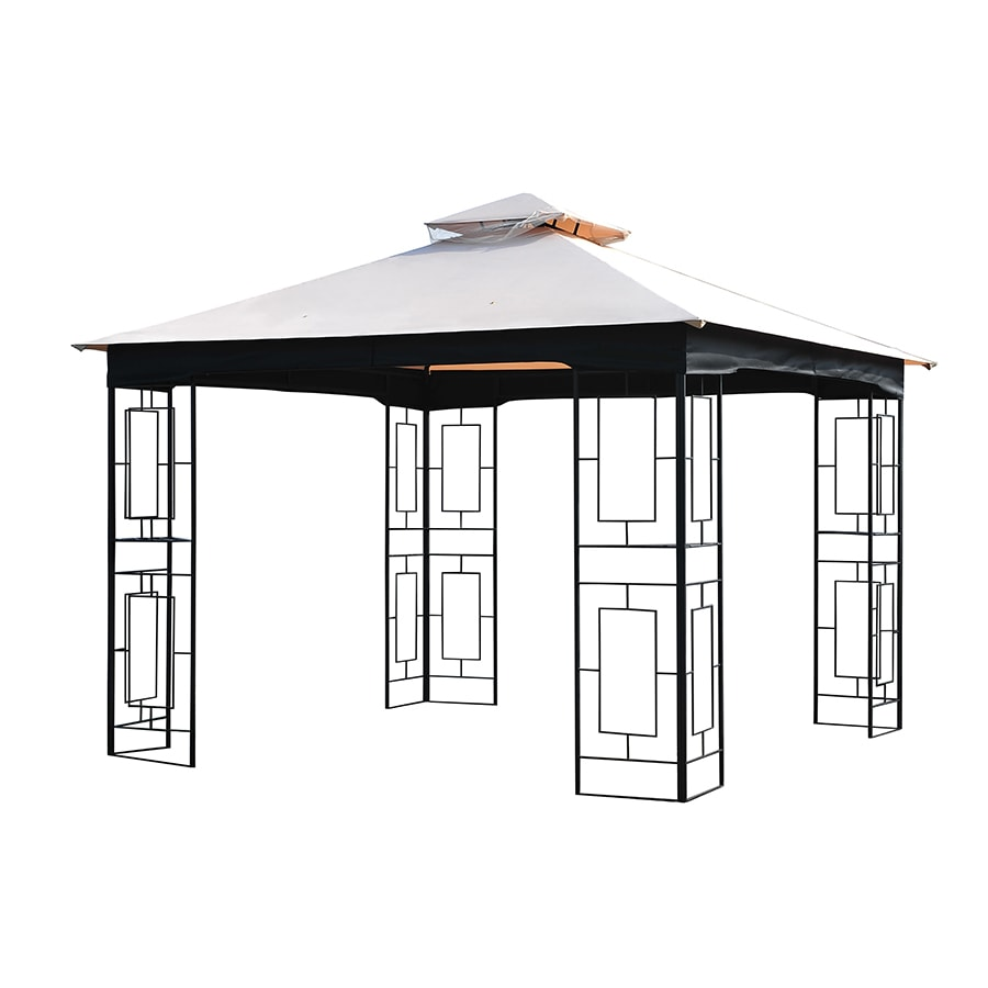 Garden Treasures Beige Replacement Canopy Top At Lowes Com
