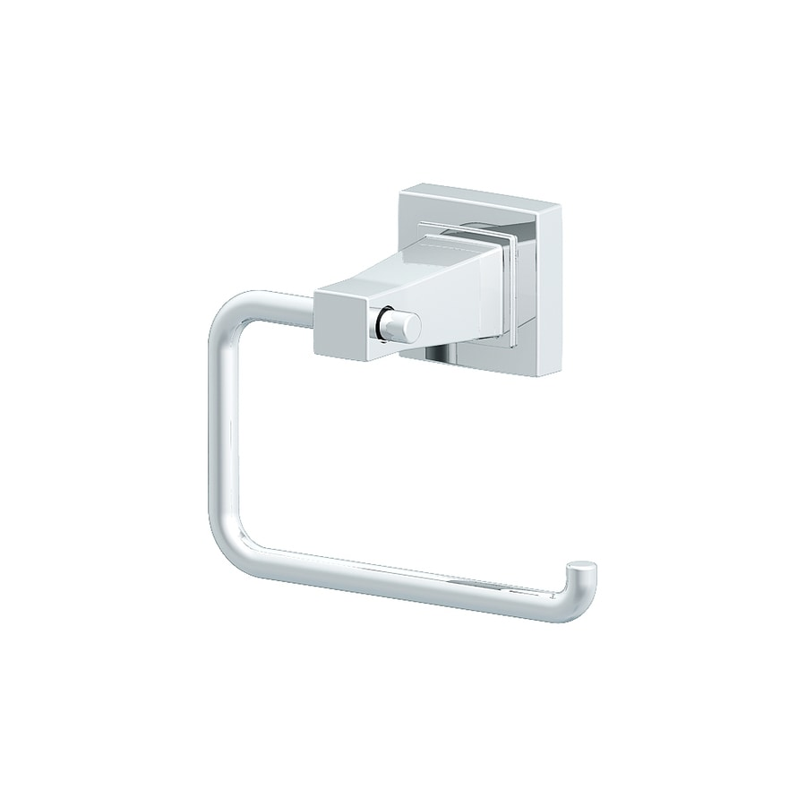 Style Selections Greenville Polished Chrome Surface Mount Toilet Paper Holder