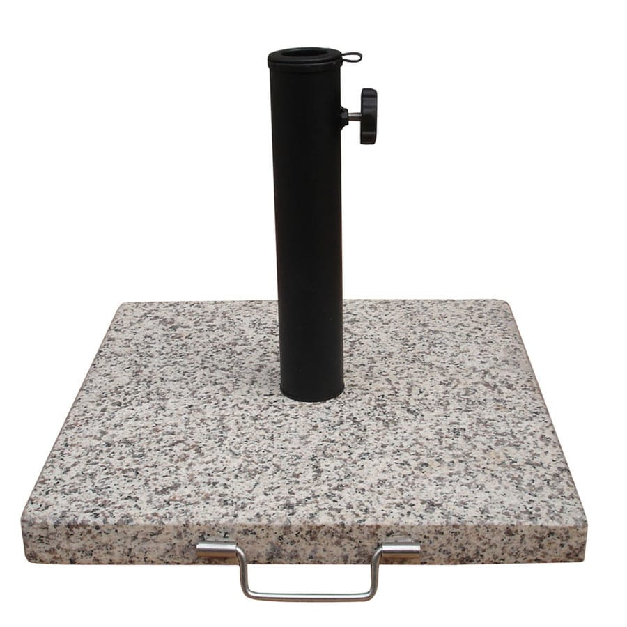 Garden Treasures Speckled Beige Patio Umbrella Base - Shop Garden Treasures Speckled Beige Patio Umbrella Base At Lowes.com