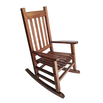 Superb Wood Rocking Chair S With Slat Seat Beatyapartments Chair Design Images Beatyapartmentscom
