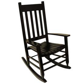 garden treasures acacia rocking chair with slat seat - Patio Rocking Chairs
