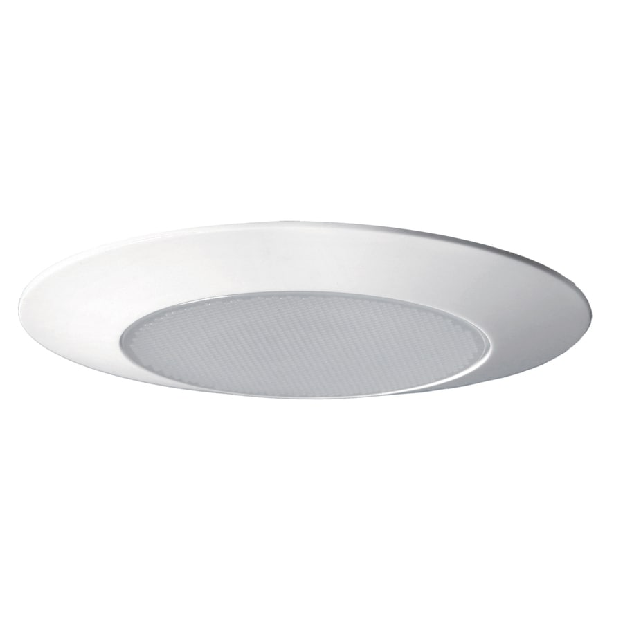 Utilitech White Shower Recessed Light Trim (Fits Housing Diameter: 6-in)