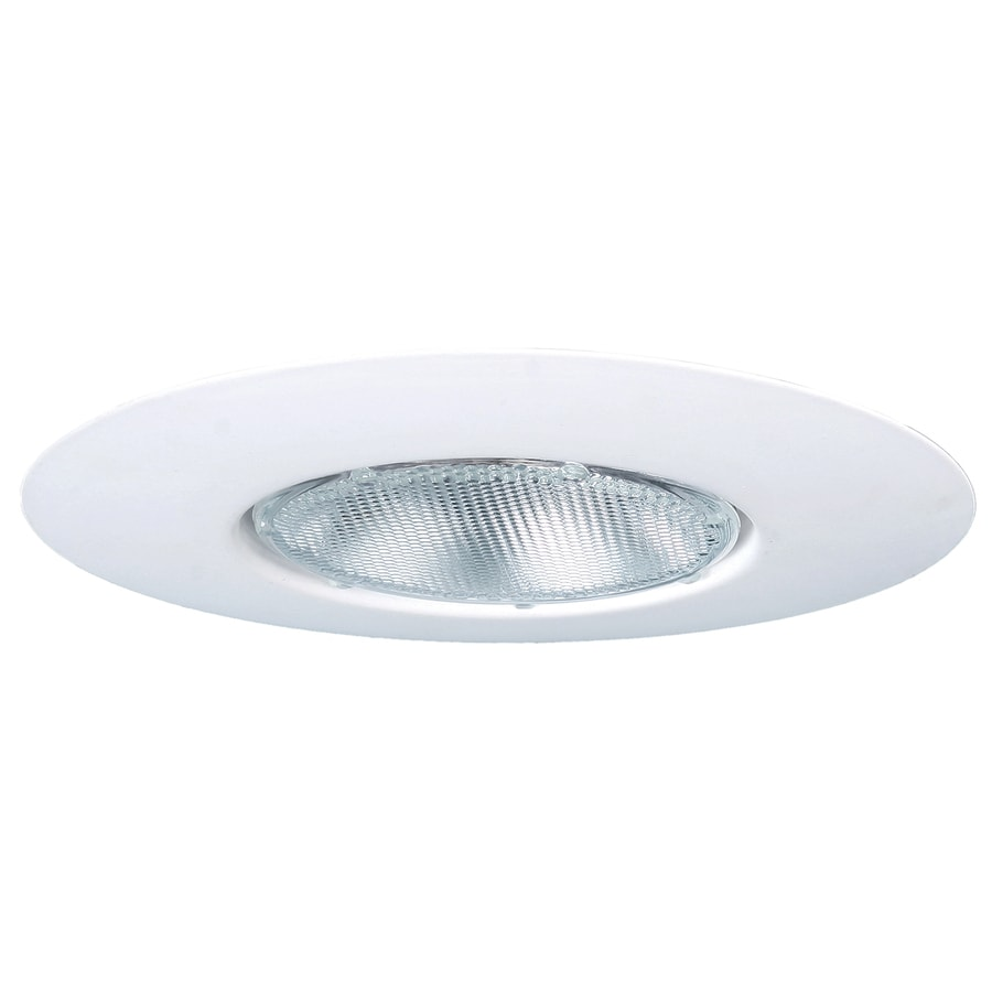 utilitech white open recessed light trim fits housing diameter 6in