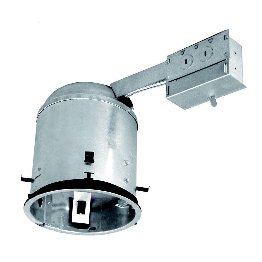 Shop recessed light housings at lowes utilitech remodel airtight ic recessed light housing common 6 in actual aloadofball Images