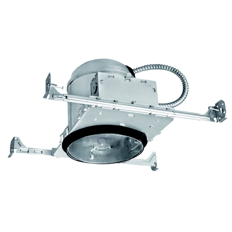 Shop utilitech new construction airtight ic recessed light housing utilitech new construction airtight ic recessed light housing common 6 in actual aloadofball Image collections