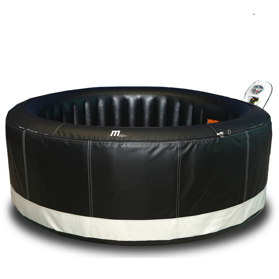 Shop MSpa 4-Person Round Hot Tub at Lowes.com
