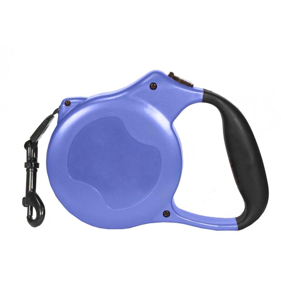Pet's Finest Blue Nylon Mesh Retractable Dog Leash