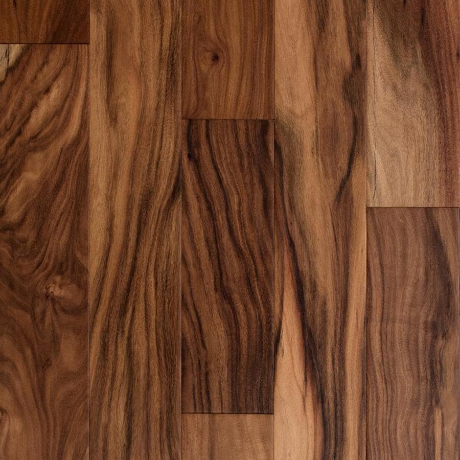 Acacia Hardwood Flooring Reviews source wwwuniquewoodfloorcom Style Selections 5 In Prefinished Natural Engineered Acacia Hardwood Flooring 3229 Sq Ft