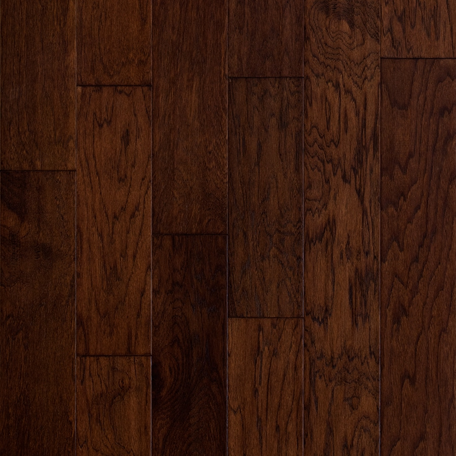 Shop style selections 5 in prefinished barrel engineered for Hickory flooring