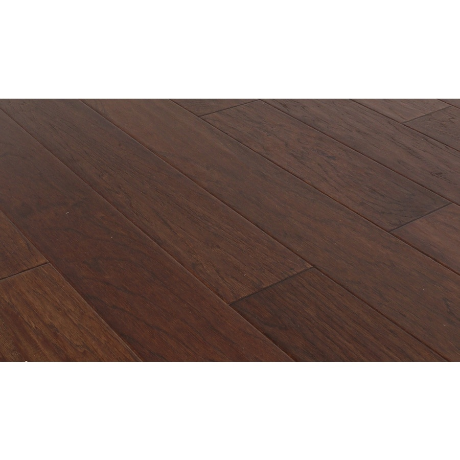 Shop style selections hickory hardwood flooring sample for Hickory hardwood flooring
