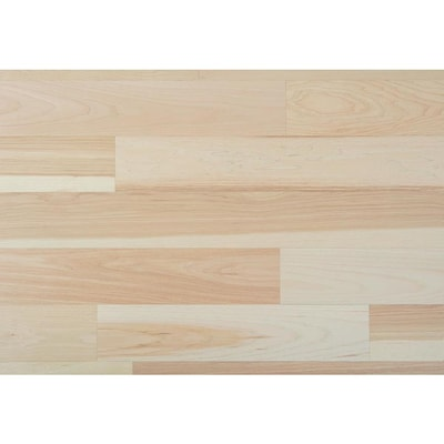Style Selections 5 In Natural Hickory Engineered Hardwood