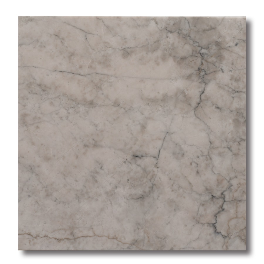 allen + roth 10-Pack Grey Floor Tile (Common: 12-in x 12-in; Actual: 11.97-in x 11.97-in)