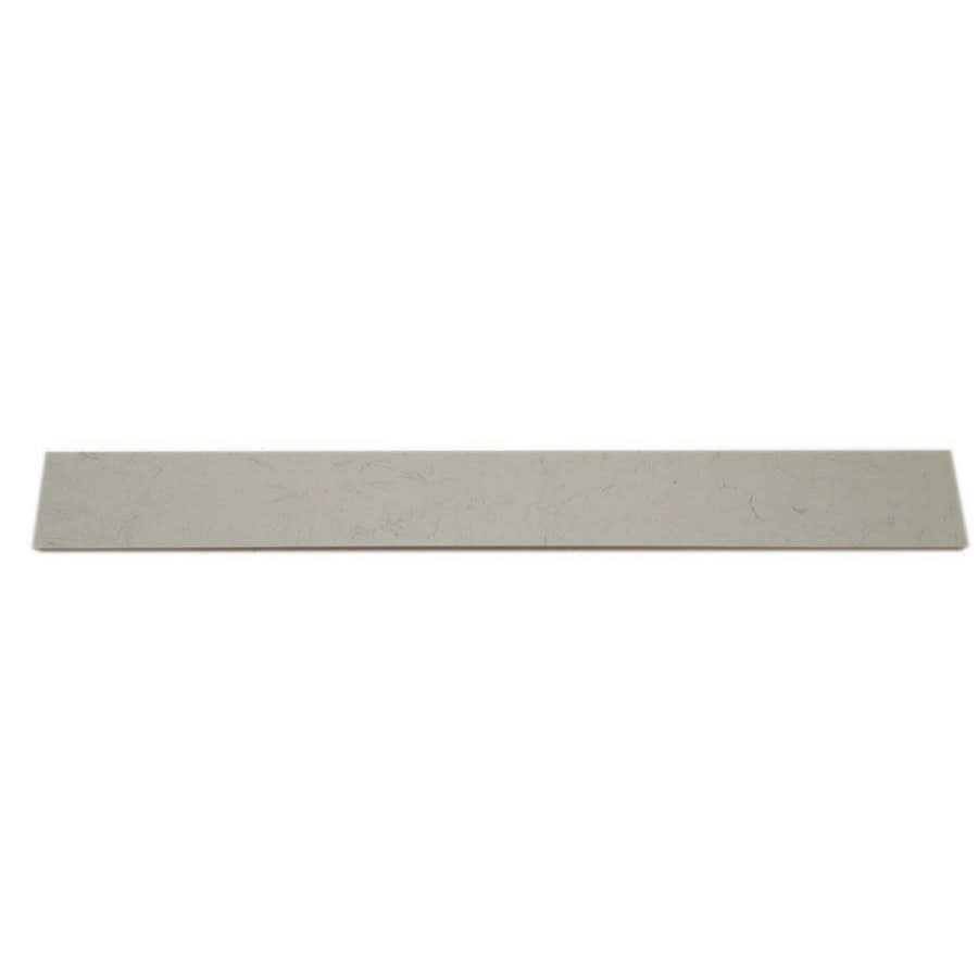 White Composite Sill Tile (Common: 6-in x 54-in; Actual: 5.9-in x 53.9-in)