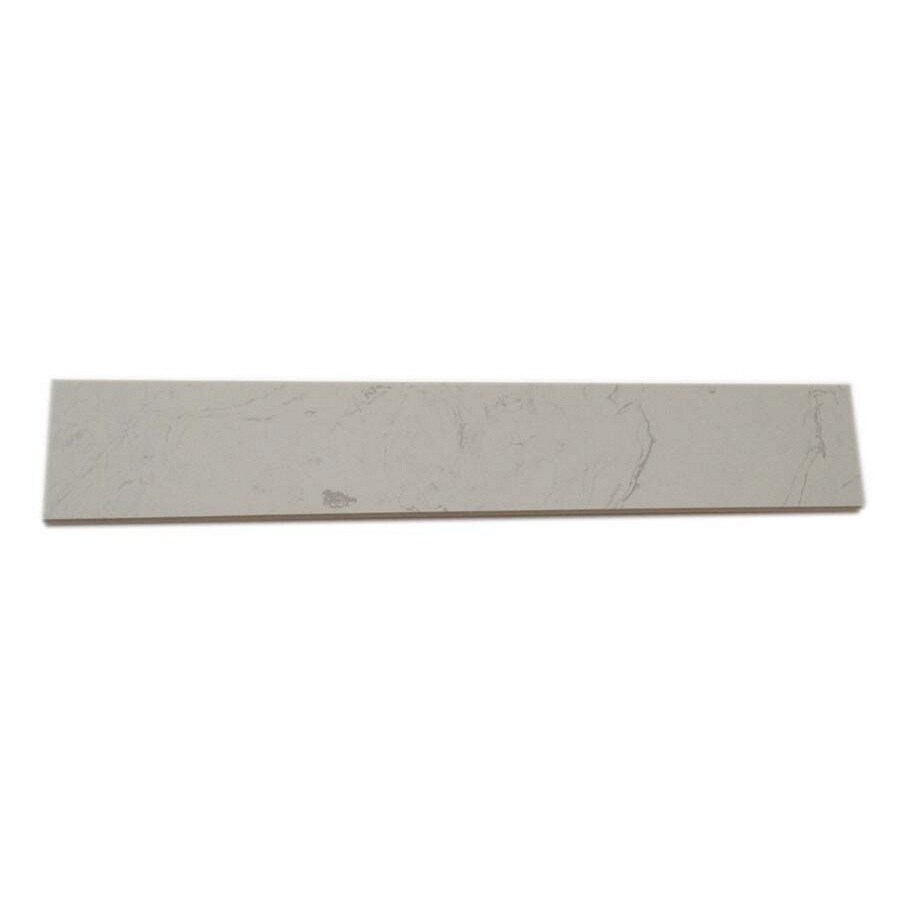 White Composite Sill Tile (Common: 6-in x 36-in; Actual: 5.9-in x 35.9-in)