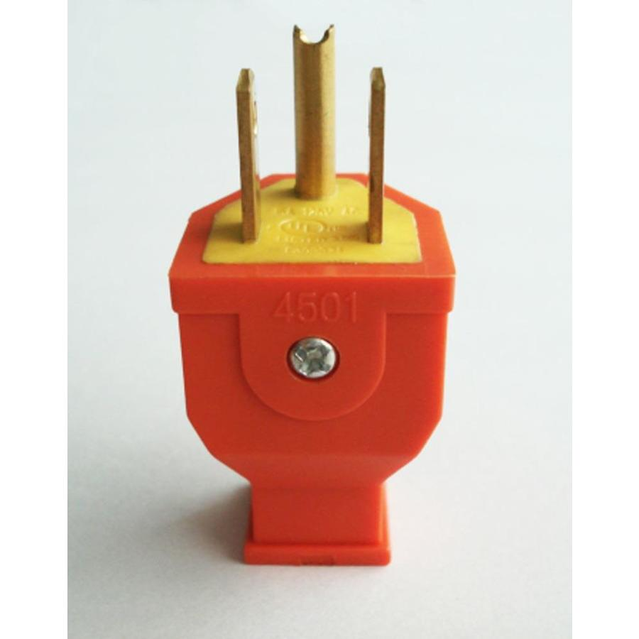 Shop Project Source 15 Amp 125 Volt Orange 3 Wire Grounding Plug At Prong Diagram