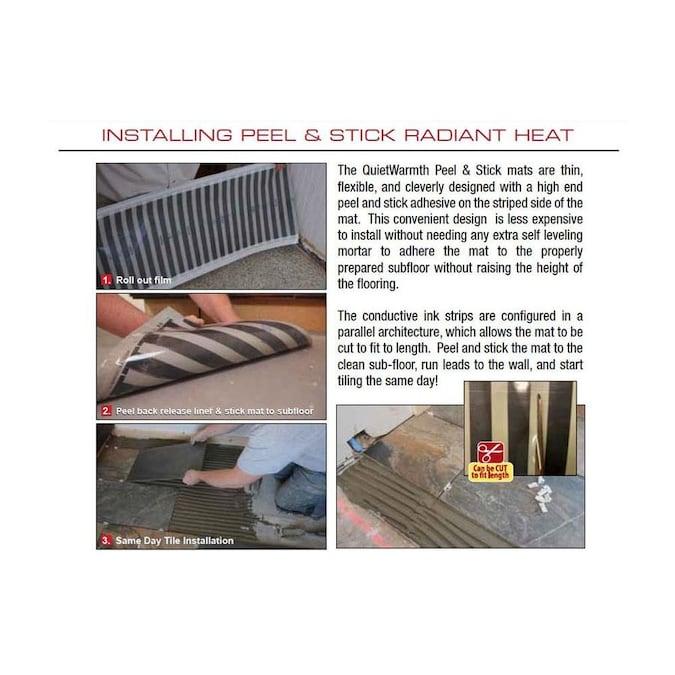 120 Volt Underfloor Heating Mat