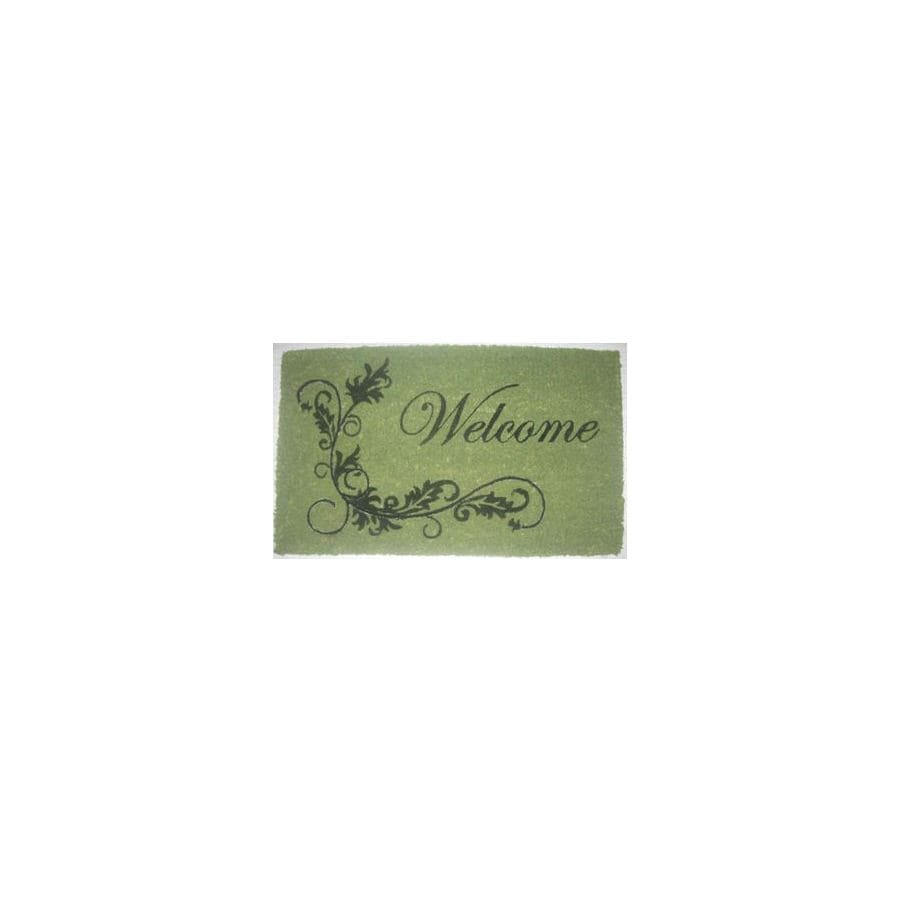 allen + roth Rectangular Door Mat (Common: 18-in x 30-in; Actual: 17.9-in x 29.9-in)