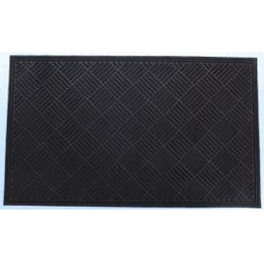 Blue Hawk Walnut Rectangular Door Mat (Common: 48-in x 72-in; Actual: 48-in x 72-in)