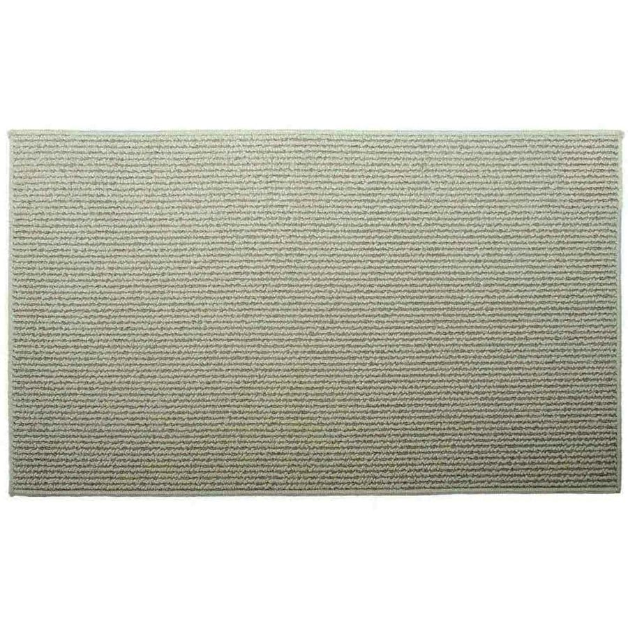 Style Selections Biscuit Corn Rectangular Indoor Tufted Throw Rug (Common: 2 x 5; Actual: 2-ft W x 5-ft L)
