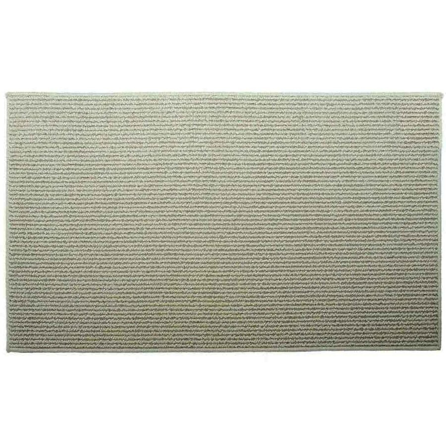 Style Selections Biscuit Corn Rectangular Indoor Machine-made Throw Rug (Common: 2 x 5; Actual: 2-ft W x 5-ft L)
