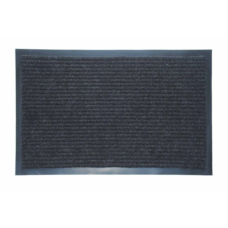 Shop Blue Hawk Rectangular Door Mat (Actual: 48-in x 72-in) at Lowes.com