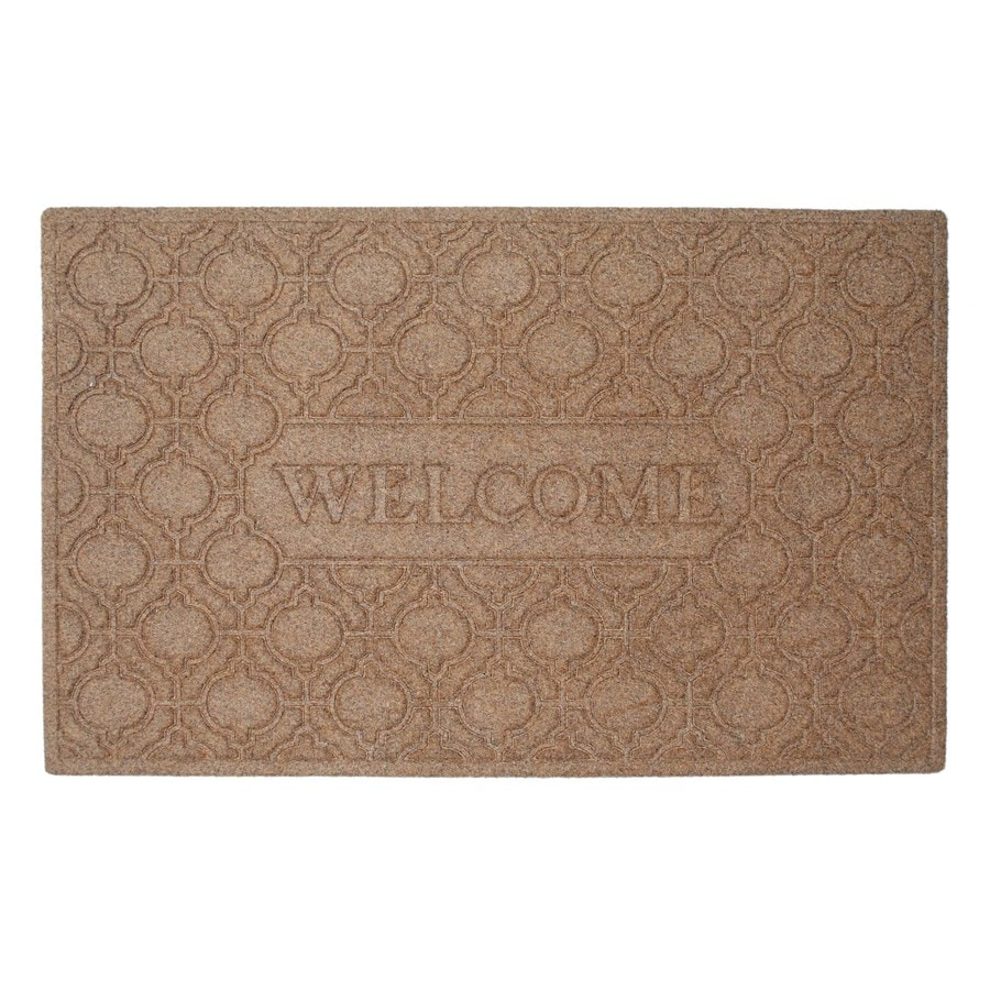 Natural Rectangular Door Mat (Common: 24-in x 36-in; Actual: 23.75-in x 38.5-in)