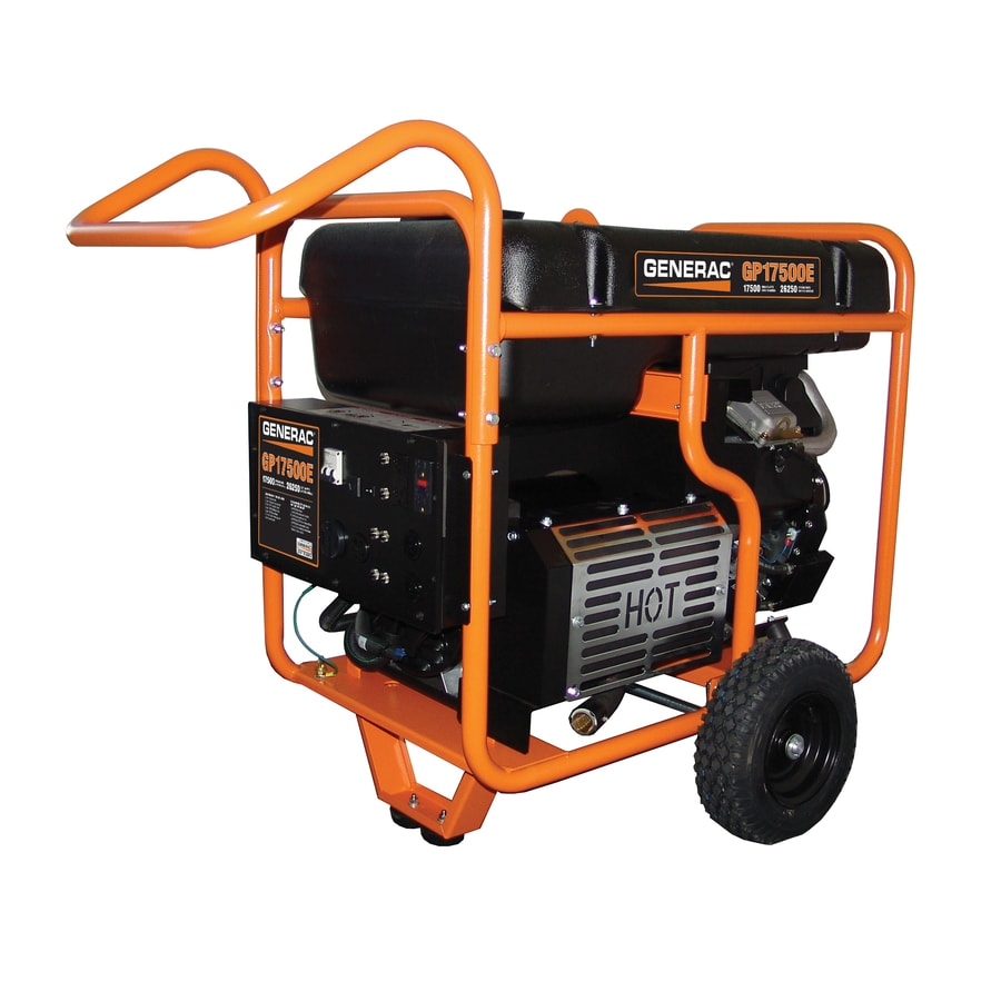 Generac GP 17500-Running-Watt Portable Generator with Generac Engine
