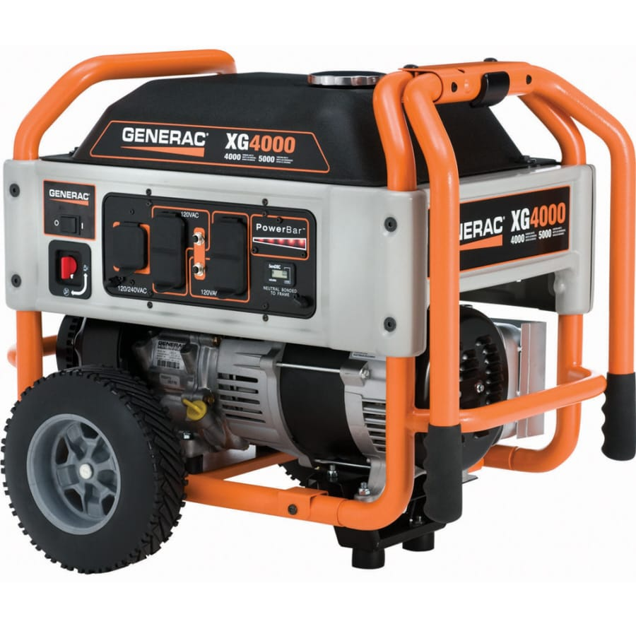 Generac XG 4,000-Running-Watt Portable Generator with Generac Engine