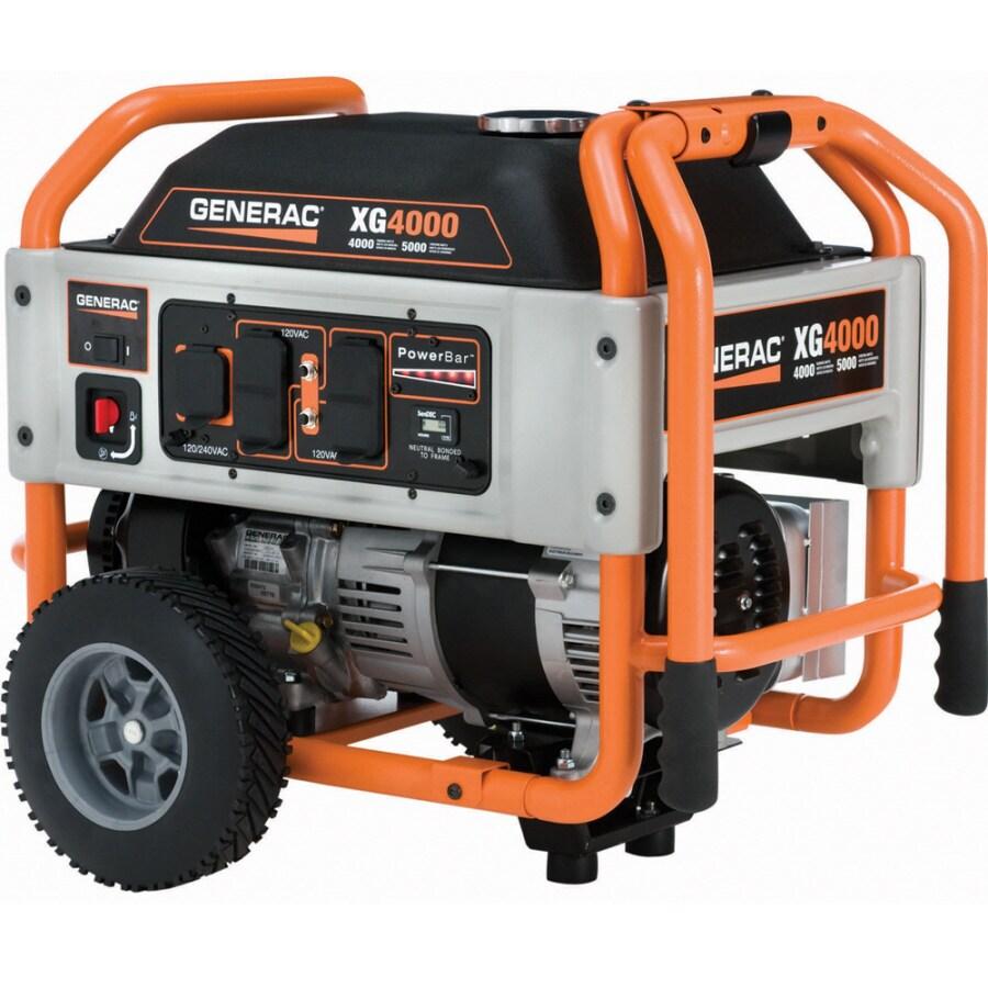 Generac XG 4000-Running Watts Portable Generator