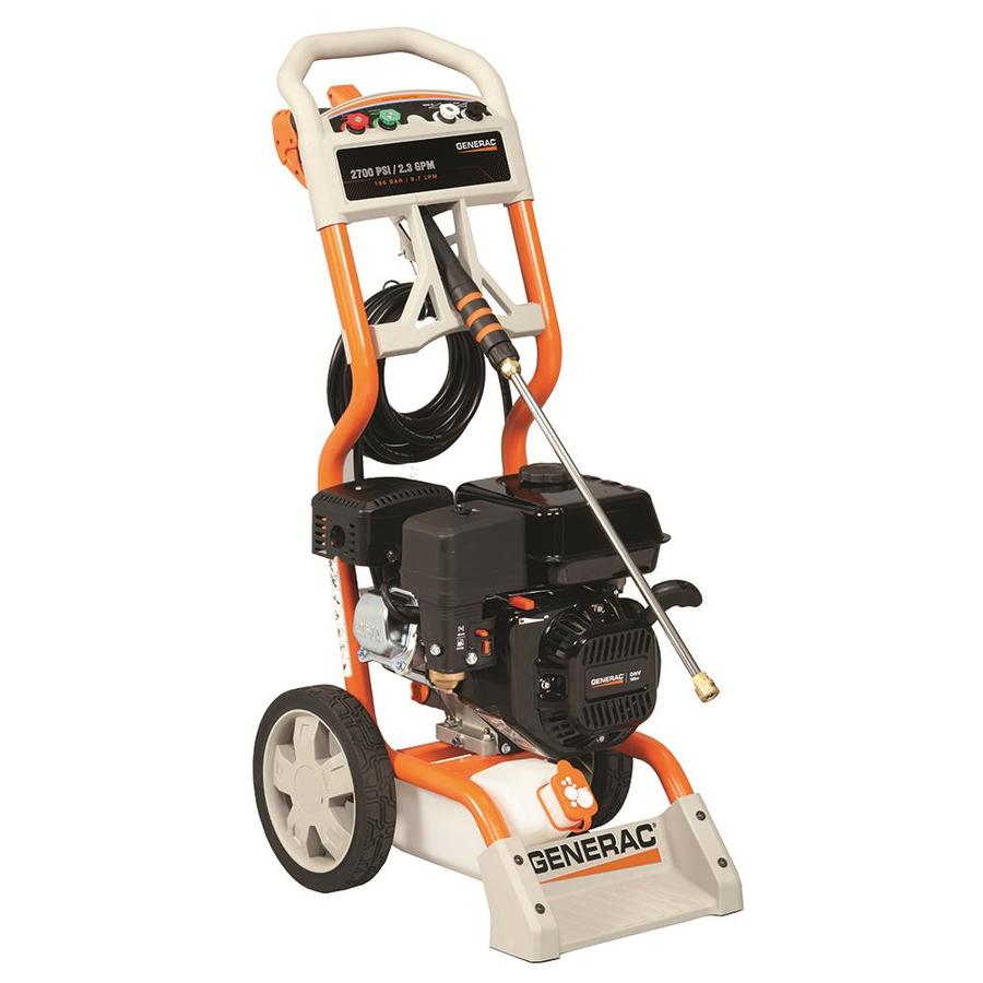 Generac 2700-PSI 2.3-GPM Water Gas Pressure Washer