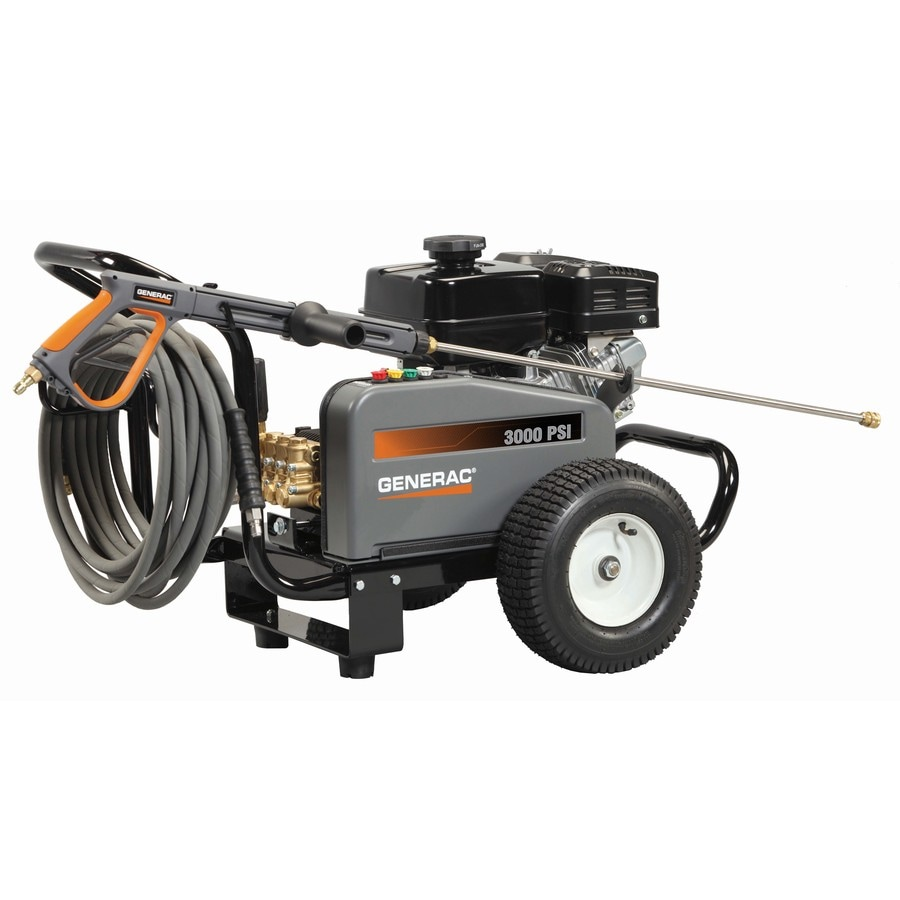 Generac 3000-PSI 3-GPM Water Gas Pressure Washer