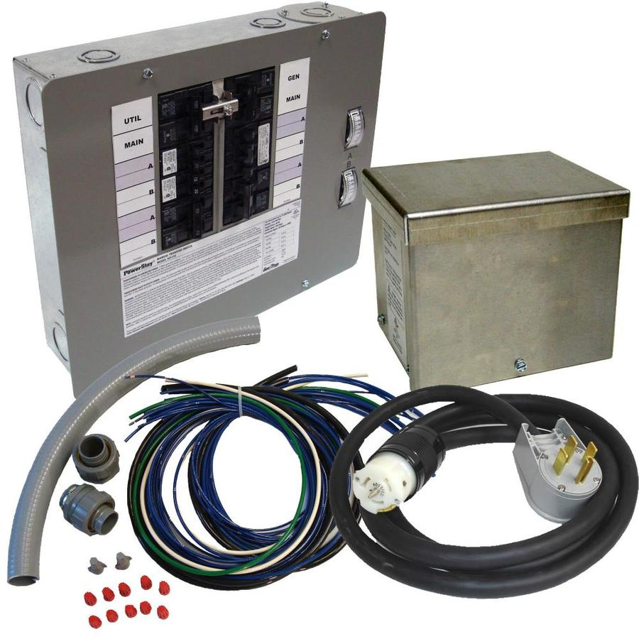 generac 50 amp 12 to 16 circuit manual transfer switch at  10 circuit transfer switch at lowes com